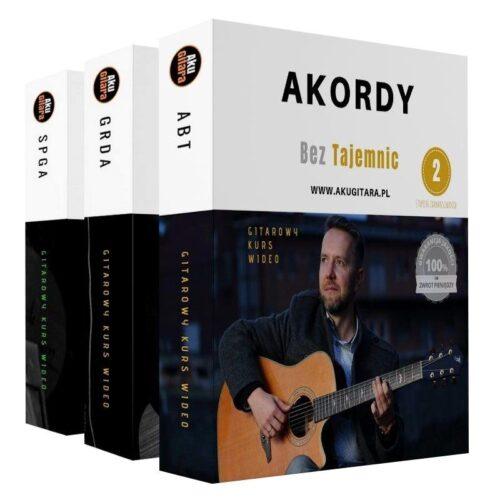 Pakiet kursów online do nauki gry na gitarze